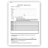 AEBF - Level I Coach RPL/RCC Application Form